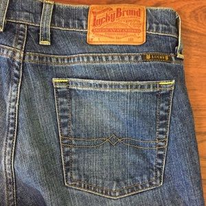 Lucky Brand Sundown Straight Med Wash Denim Jeans